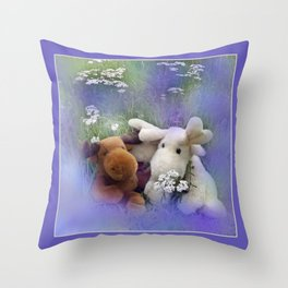 framed pictures -43- Throw Pillow
