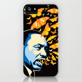 The Voice of Change iPhone Case