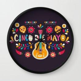 Cinco de Mayo – Guitar Wall Clock