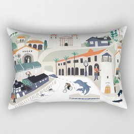 The best of Santa Barbara Rectangular Pillow