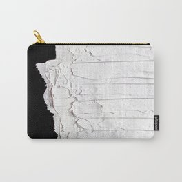 Black, White & White Carry-All Pouch