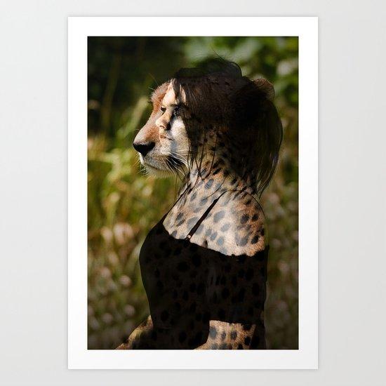 African Cats Art Print