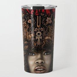 ERYKAH BADU--ART Travel Mug