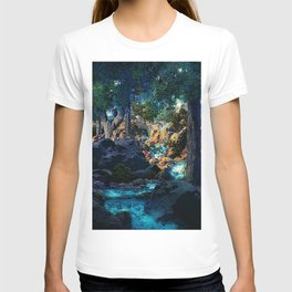 Doctrine of Divine Light by Maxfield Parrish T-shirt