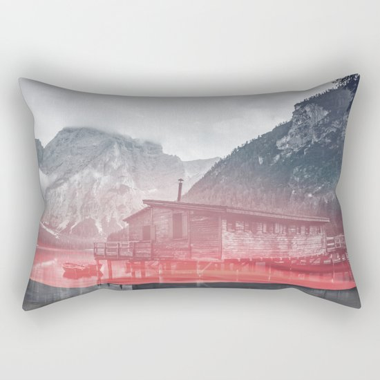 Rising Fog Rectangular Pillow