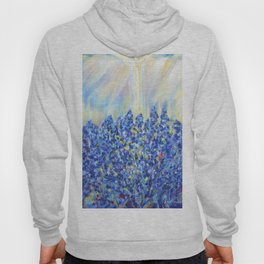 Lavender after the rain, flowers Hoody