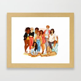 Marauders' Era group picture Framed Art Print