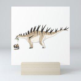 Carnivorous But Hardly A Threat Mini Art Print