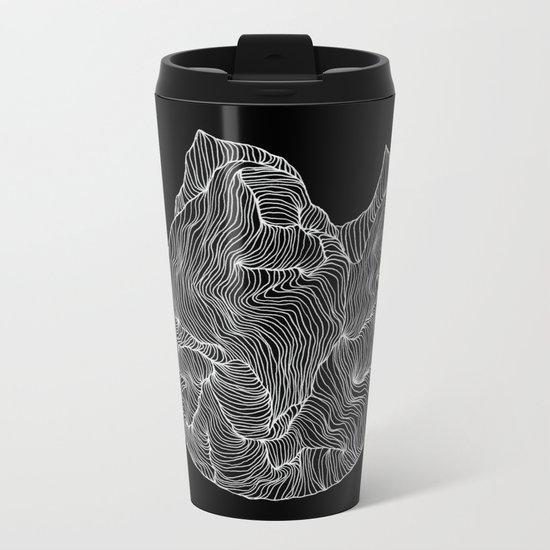 Inverted Crevice Metal Travel Mug