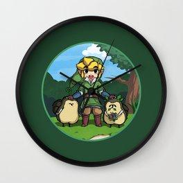 Legend of Zelda Skyward Sword: Link and Kikwis Wall Clock