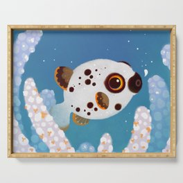 Blackspotted puffer Serving Tray
