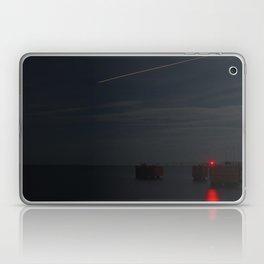 Martha's Vineyard Pier Glow. Laptop & iPad Skin