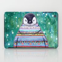 penguin iPad Cases featuring penguin by beart24