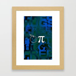Apple Pie - Free Hugs Framed Art Print