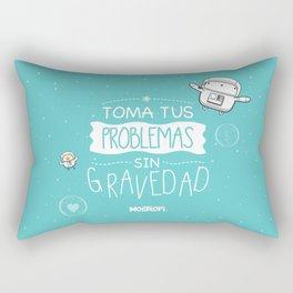 Gravedad Rectangular Pillow