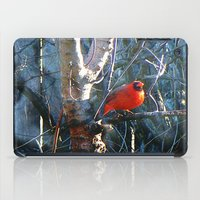 cardinal iPad Cases featuring Cardinal by IcyBC