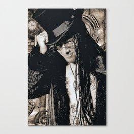 Mr. Steampunk Canvas Print