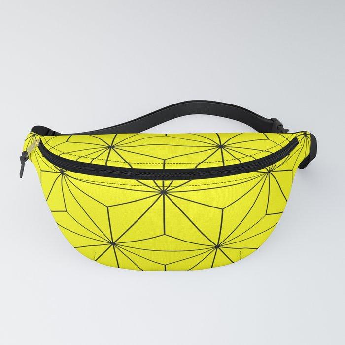 Yellow pattern Fanny Pack