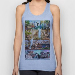 The Amazing Animal Kingdom Unisex Tank Top