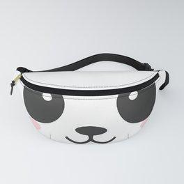 Panda Face Fanny Pack