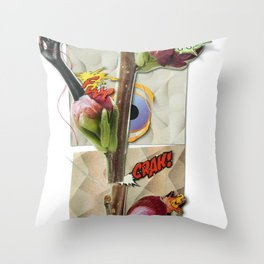 Genetically modified | Collage Throw Pillow