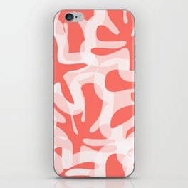 Living Coral View iPhone Skin