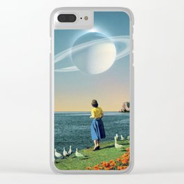 Watching Planets Clear iPhone Case