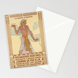 Vintage poster - Egypt Stationery Cards
