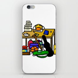 High Schooler iPhone Skin