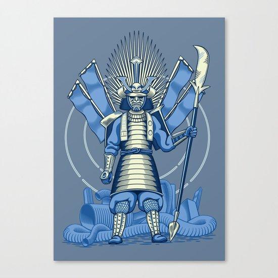 Samurai Nightmare Canvas Print