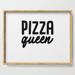 Pizza Queen Serving Tray