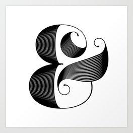 Ampersand Art Print