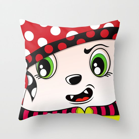 Dotz Throw Pillow