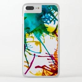 Unicorn sneeze Clear iPhone Case