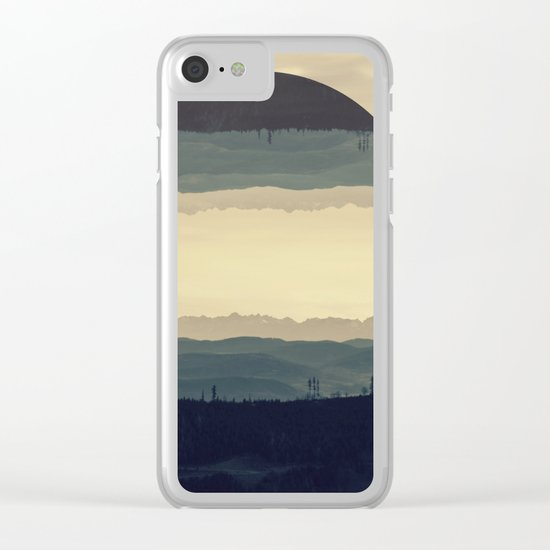 Where the eye can see Clear iPhone Case