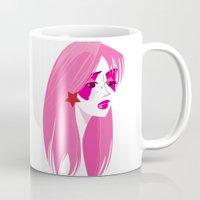 jem Mugs featuring Jem by breakfastjones