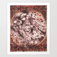 Corpse Blossoms Art Print