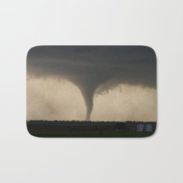 Tornado On the Ground at Salina Kansas Bath Mat