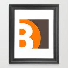 3 or 8? Framed Art Print