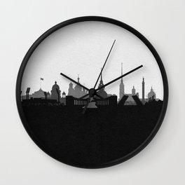 City Skylines: Saint Petersburg Wall Clock