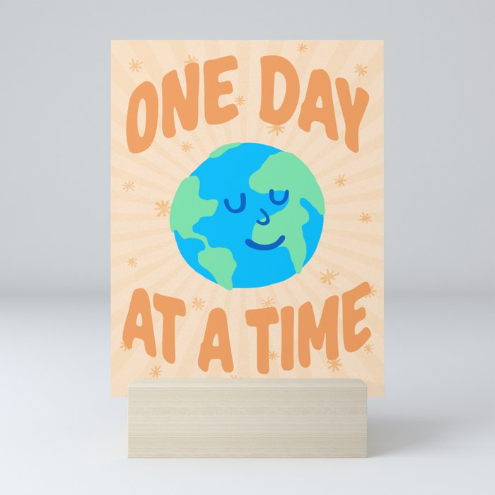 """""""One Day at a Time"""" inspired by Ariane Goldman, Hatch Mini Art Print"""