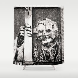 Il Papa Shower Curtain