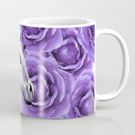 HORSES AND ROSES AND HORSES Coffee Mug