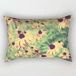 Rudbeckia - Cone Flower - JUSTART © Rectangular Pillow