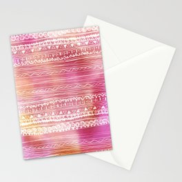 aztec spring  Stationery Cards
