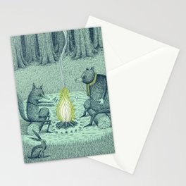 'Campfire' (Colour) Stationery Cards