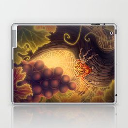 Marbled Orb Weaver Laptop & iPad Skin