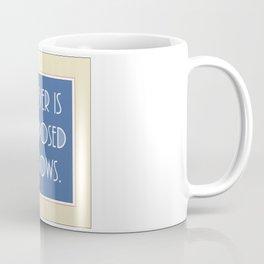 Emily Dickinson quote. Coffee Mug