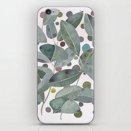 Watercolor Leaves iPhone Skin