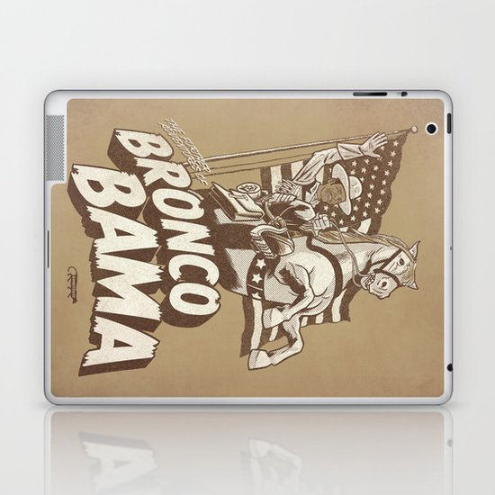 the further adventures of Bronco Bama Laptop & iPad Skin